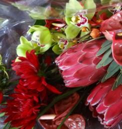 南国系の花束